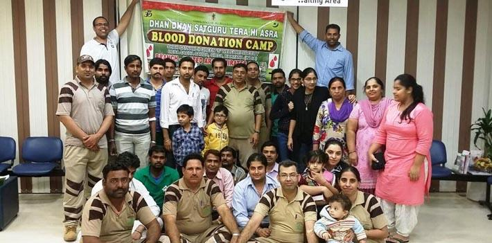 75th blood donation camp in UAE