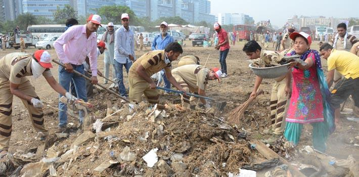 cleanliness campaign to clean mumbai