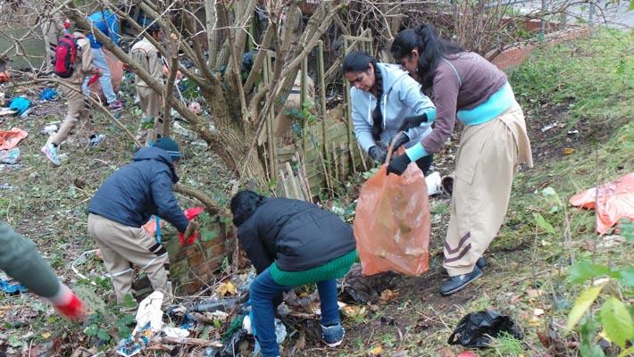 cleanliness drive in london